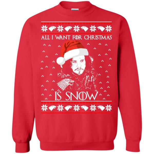 image 1584 600x600 - All I Want For Christmas is Snow Ugly Sweater, Christmas Sweatshirt