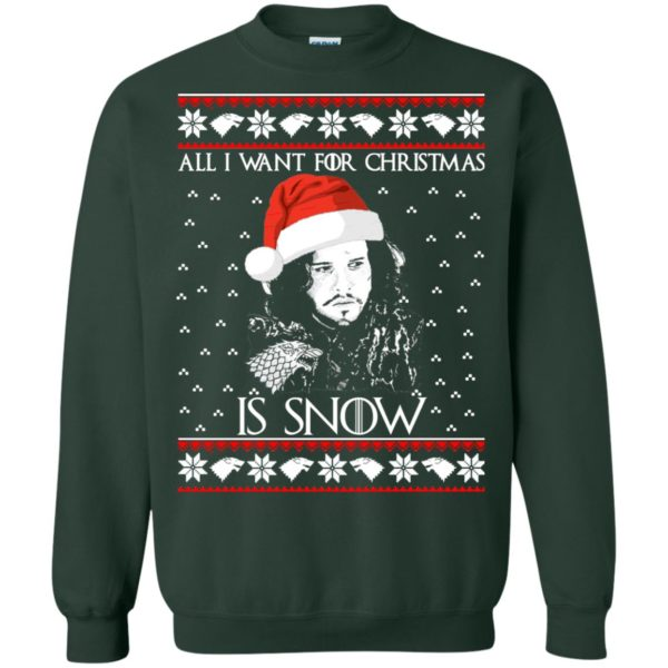 image 1585 600x600 - All I Want For Christmas is Snow Ugly Sweater, Christmas Sweatshirt
