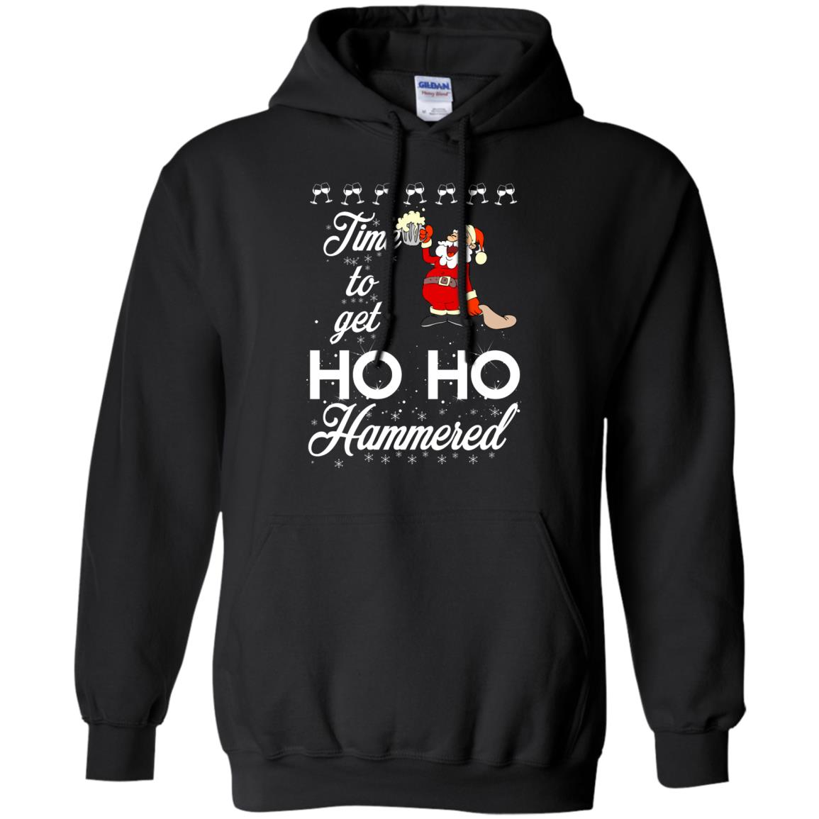image 1651 - Time To Get Ho Ho Hammered Christmas Sweater, Shirt