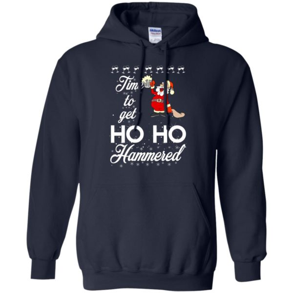 image 1652 600x600 - Time To Get Ho Ho Hammered Christmas Sweater, Shirt