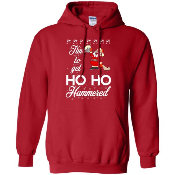 image 1653 600x600 - Time To Get Ho Ho Hammered Christmas Sweater, Shirt