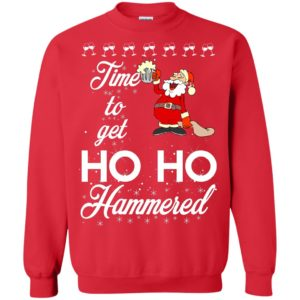 image 1656 300x300 - Time To Get Ho Ho Hammered Christmas Sweater, Shirt