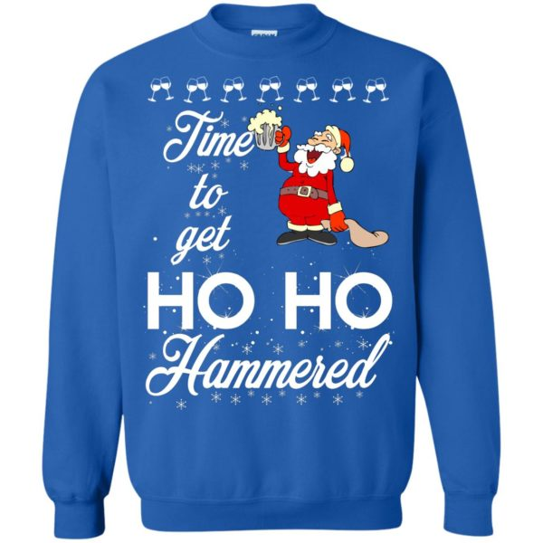 image 1658 600x600 - Time To Get Ho Ho Hammered Christmas Sweater, Shirt