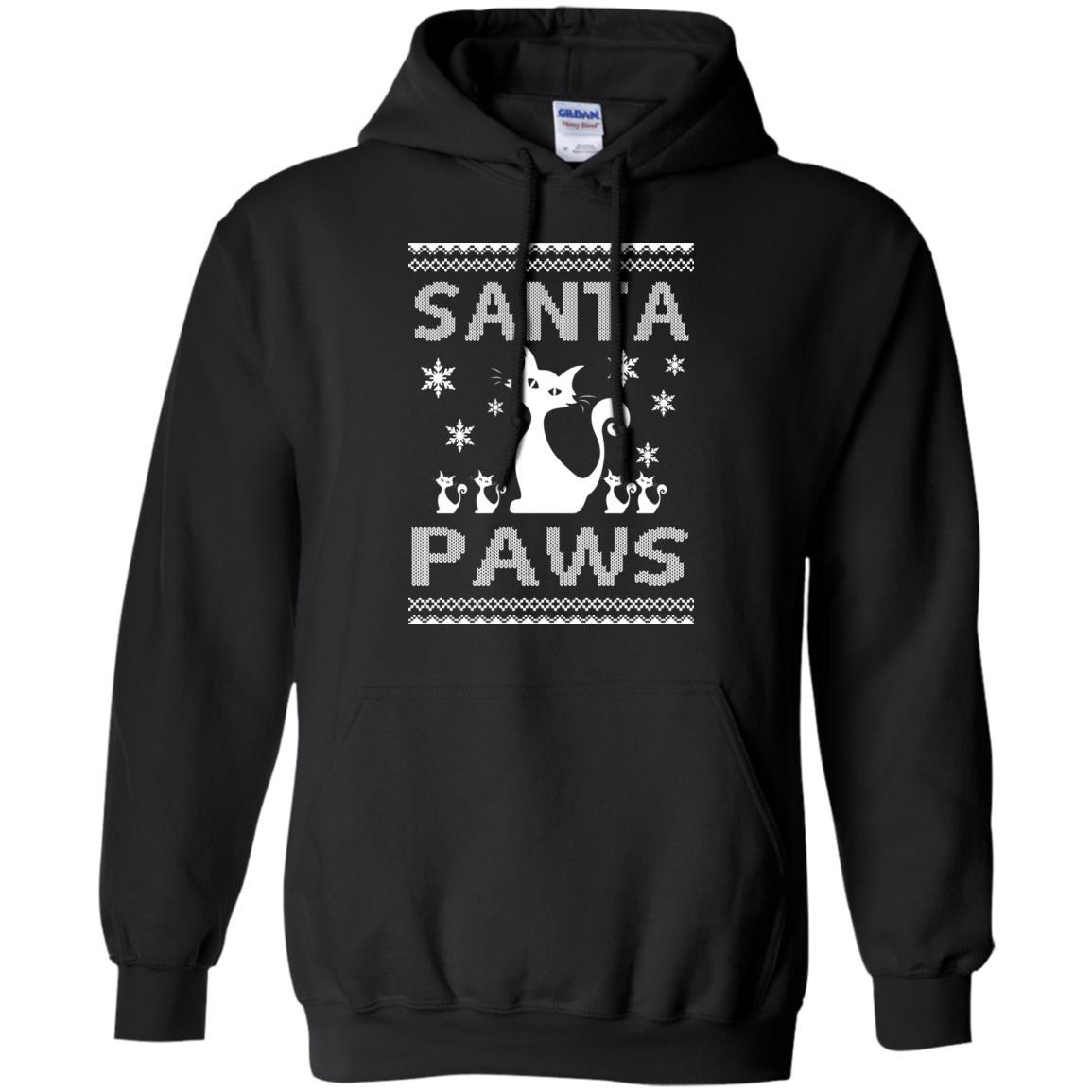 image 1675 - Santa Paws Cat Kitten Ugly Sweater, Christmas Sweatshirt