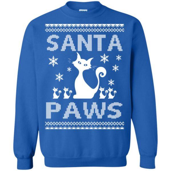 image 1682 600x600 - Santa Paws Cat Kitten Ugly Sweater, Christmas Sweatshirt