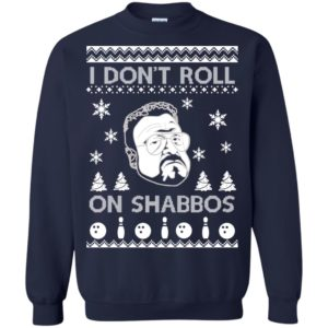 image 1751 300x300 - Lebowski I Don't Roll On Shabbos Christmas Sweater, Shirt, Hoodie