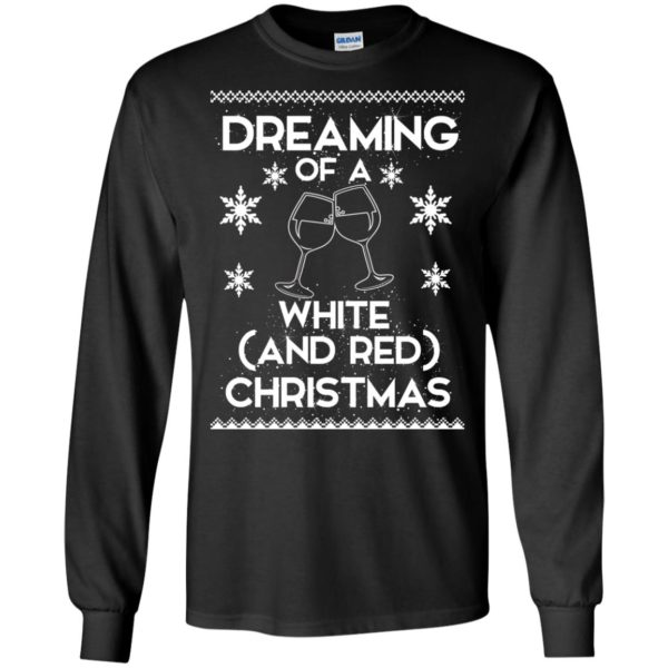 image 1756 600x600 - Dreaming of a White and Red Christmas Sweatshirt, Hoodie