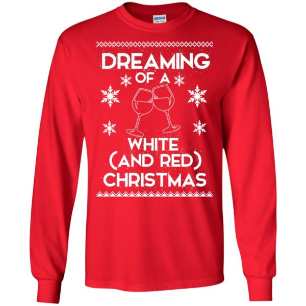 image 1757 600x600 - Dreaming of a White and Red Christmas Sweatshirt, Hoodie