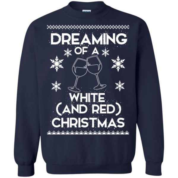 image 1763 600x600 - Dreaming of a White and Red Christmas Sweatshirt, Hoodie
