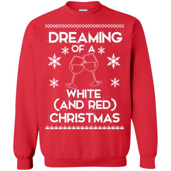 image 1764 600x600 - Dreaming of a White and Red Christmas Sweatshirt, Hoodie