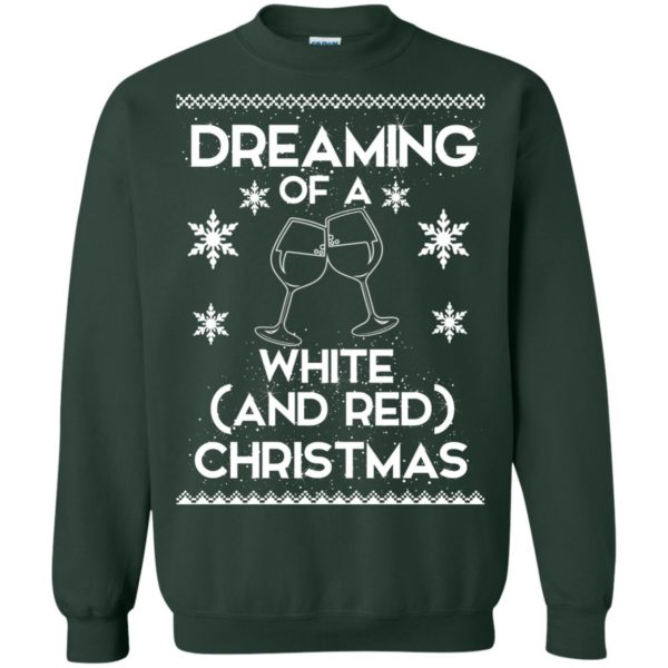 image 1765 600x600 - Dreaming of a White and Red Christmas Sweatshirt, Hoodie