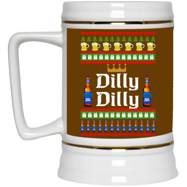 image 18 600x600 - Dilly Dilly Christmas Mug, Beer Stain