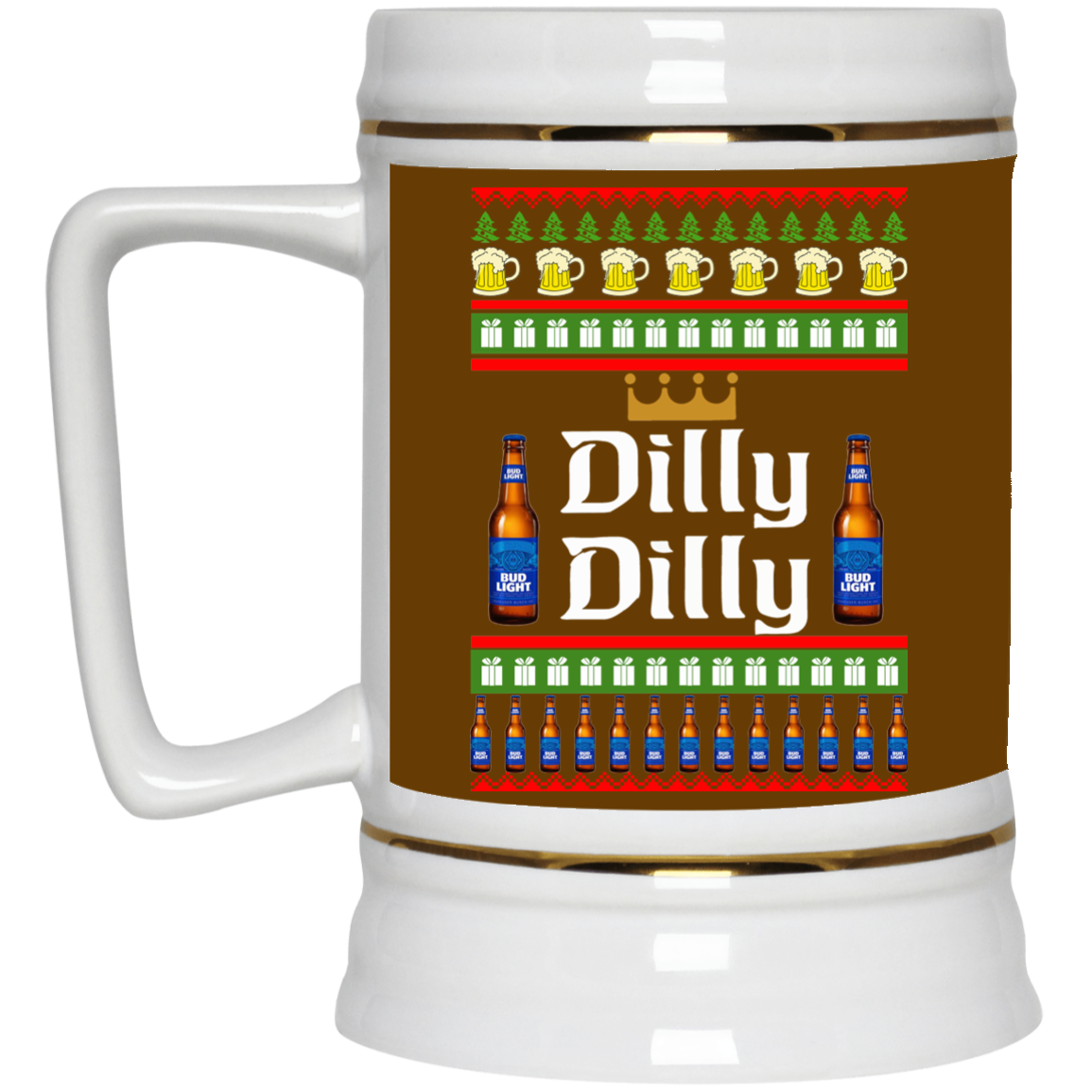 image 18 - Dilly Dilly Christmas Mug, Beer Stain