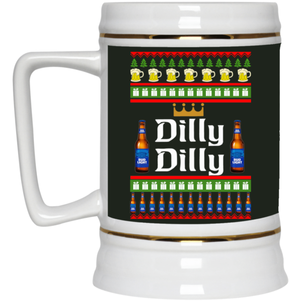 image 19 600x600 - Dilly Dilly Christmas Mug, Beer Stain