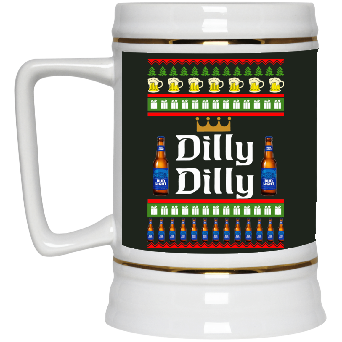 image 19 - Dilly Dilly Christmas Mug, Beer Stain