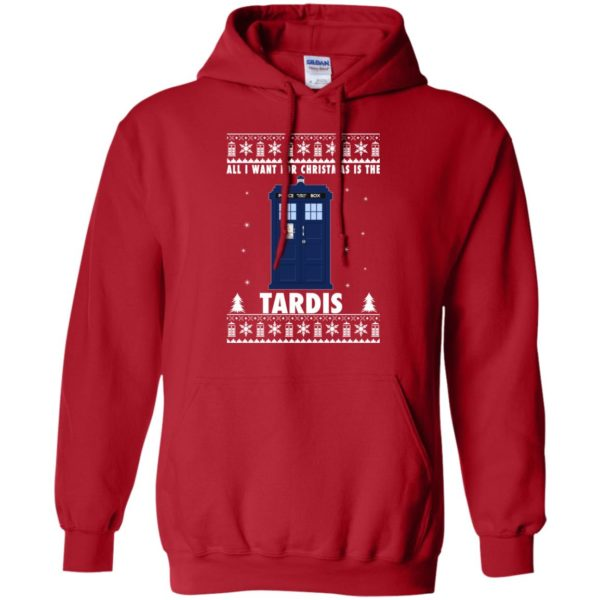 image 1919 600x600 - All I Want For Christmas Is The Tardis Ugly Sweater, Hoodie