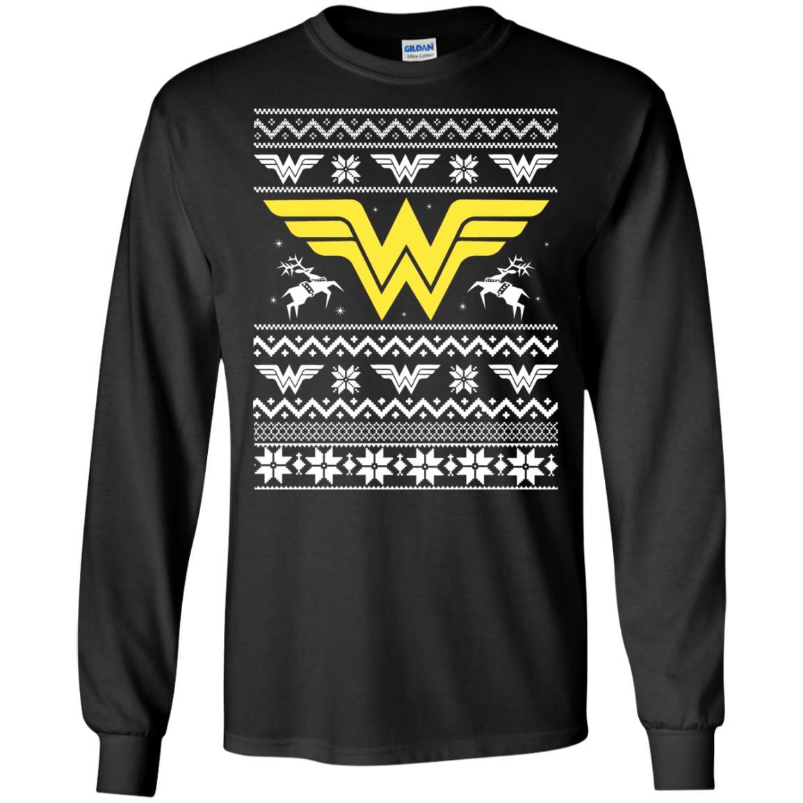 image 1964 - Wonder Woman Christmas Ugly Sweater, Hoodie