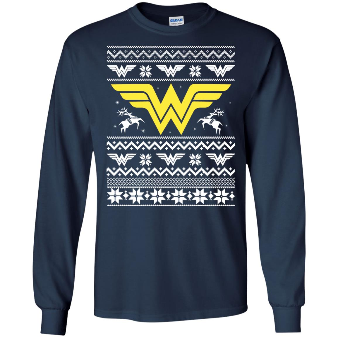 image 1965 - Wonder Woman Christmas Ugly Sweater, Hoodie