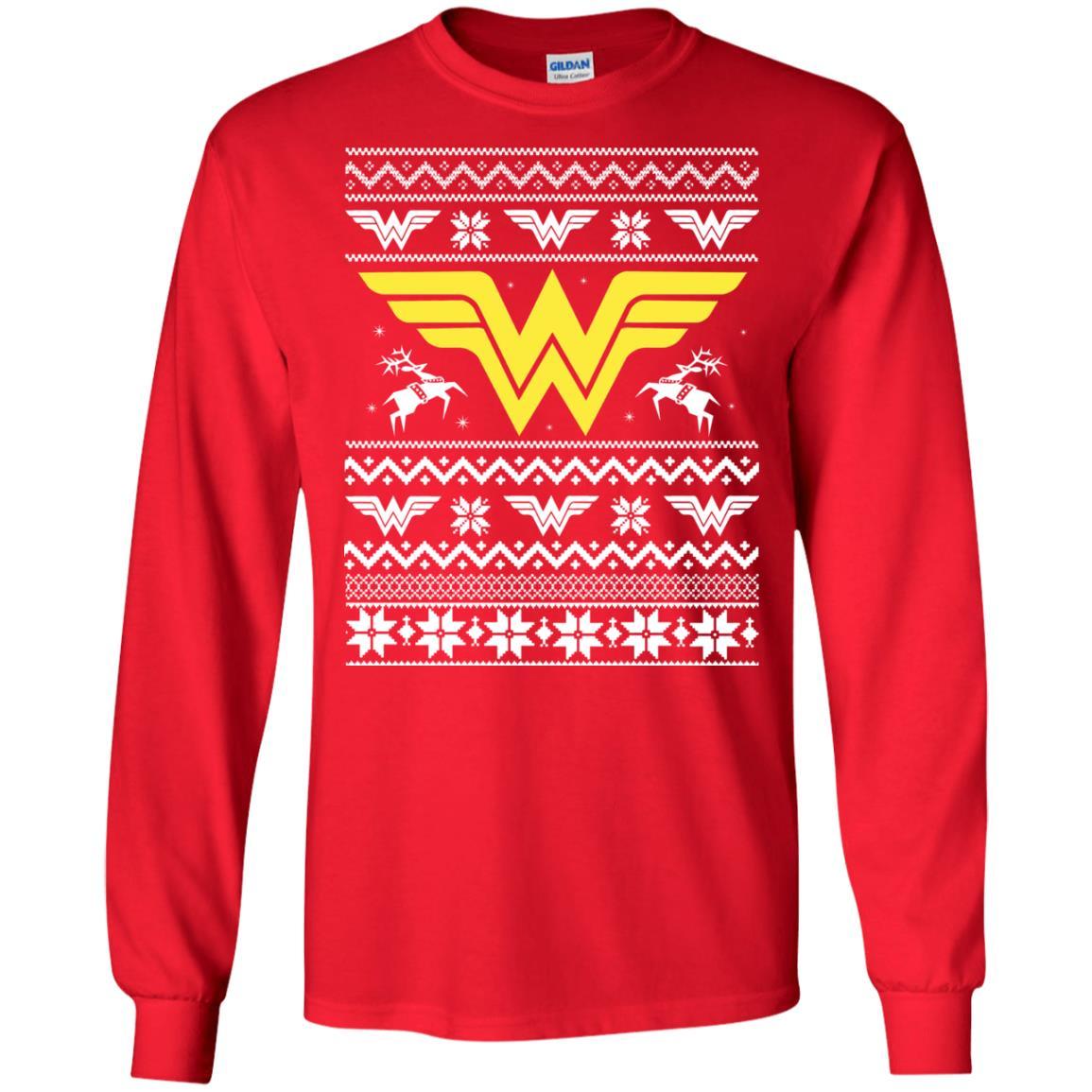 image 1966 - Wonder Woman Christmas Ugly Sweater, Hoodie