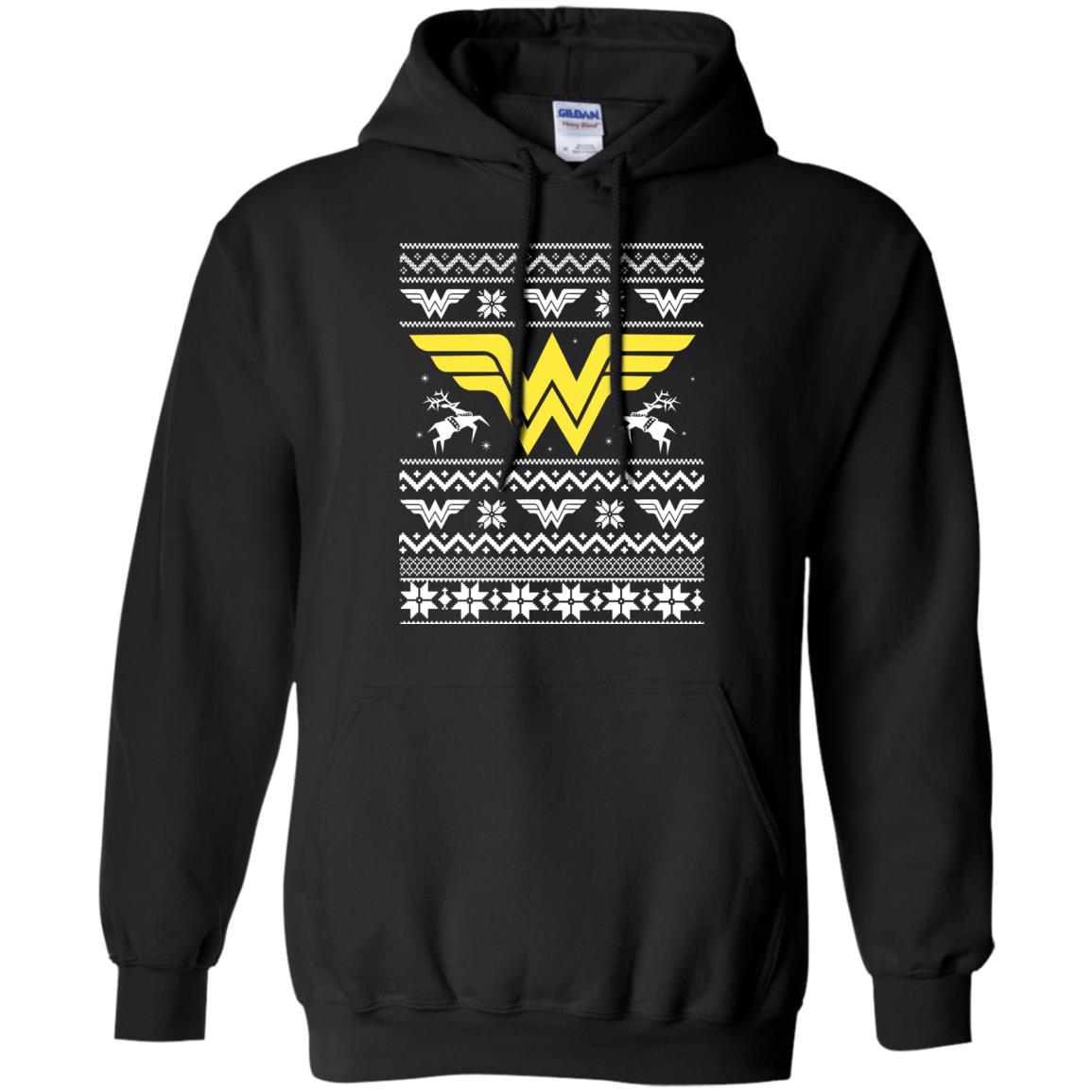 image 1967 - Wonder Woman Christmas Ugly Sweater, Hoodie