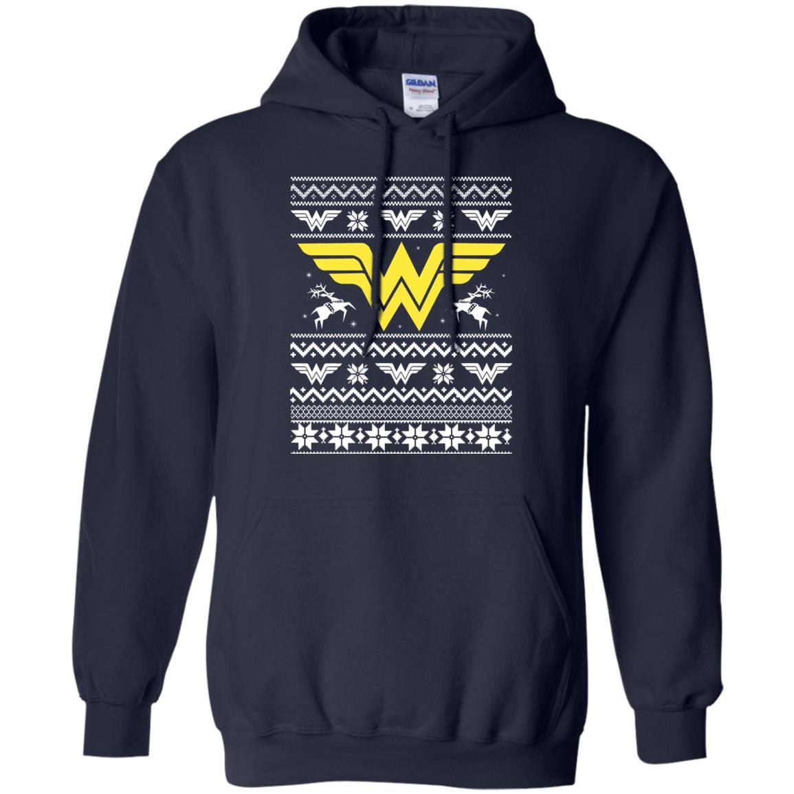 image 1968 - Wonder Woman Christmas Ugly Sweater, Hoodie