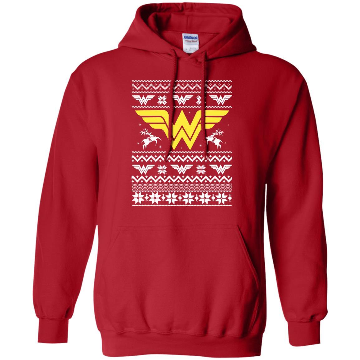 image 1969 - Wonder Woman Christmas Ugly Sweater, Hoodie