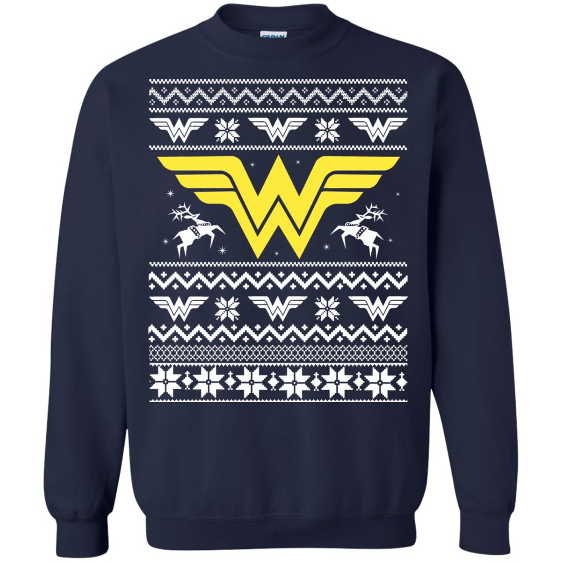 image 1971 - Wonder Woman Christmas Ugly Sweater, Hoodie