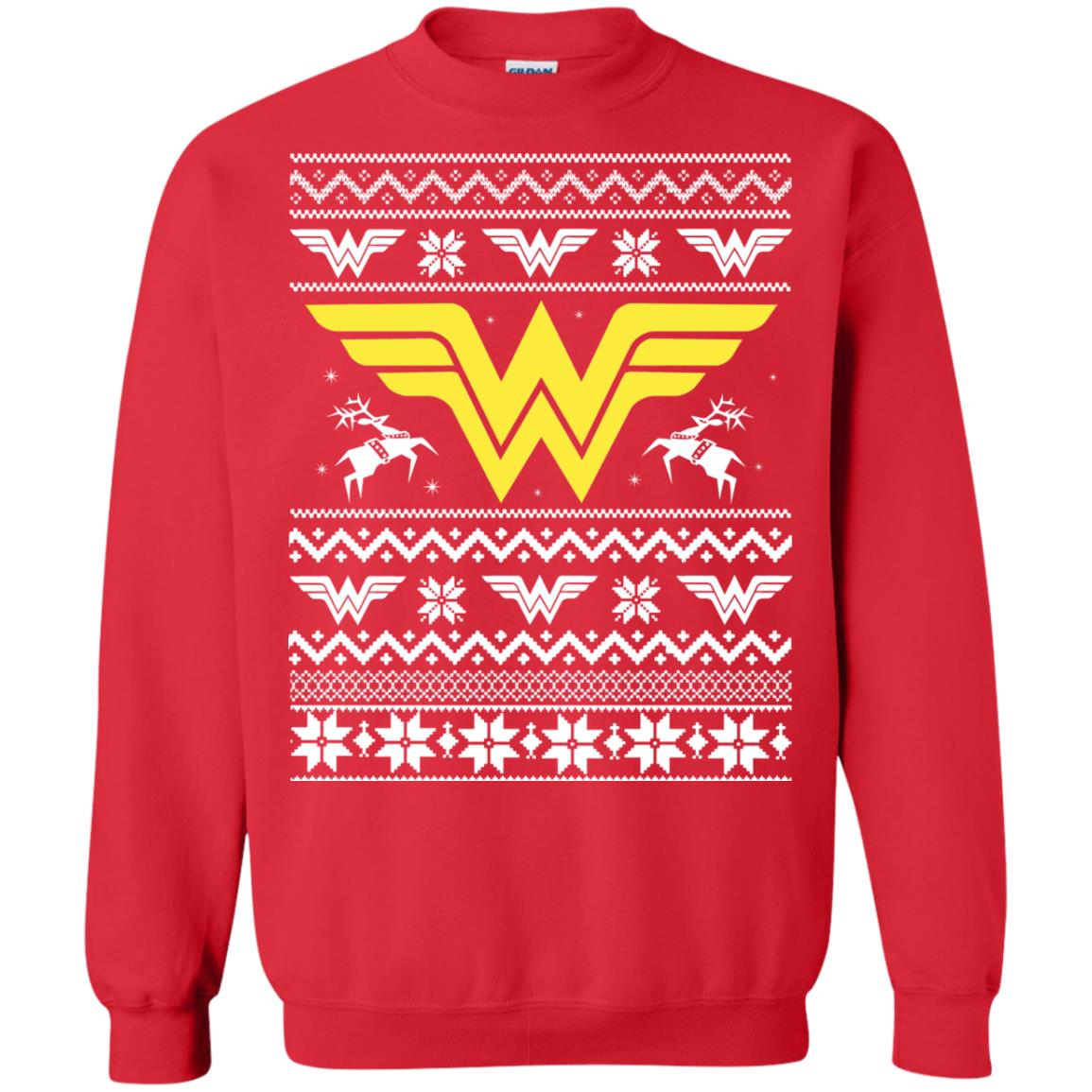image 1972 - Wonder Woman Christmas Ugly Sweater, Hoodie