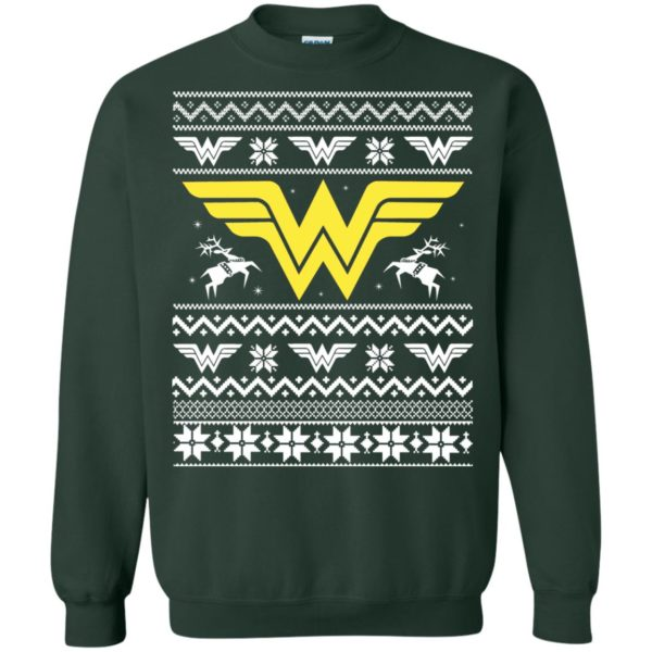 image 1973 600x600 - Wonder Woman Christmas Ugly Sweater, Hoodie