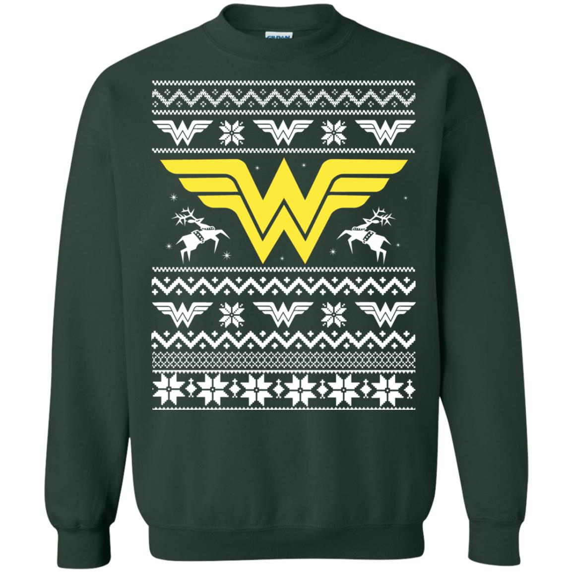 image 1973 - Wonder Woman Christmas Ugly Sweater, Hoodie
