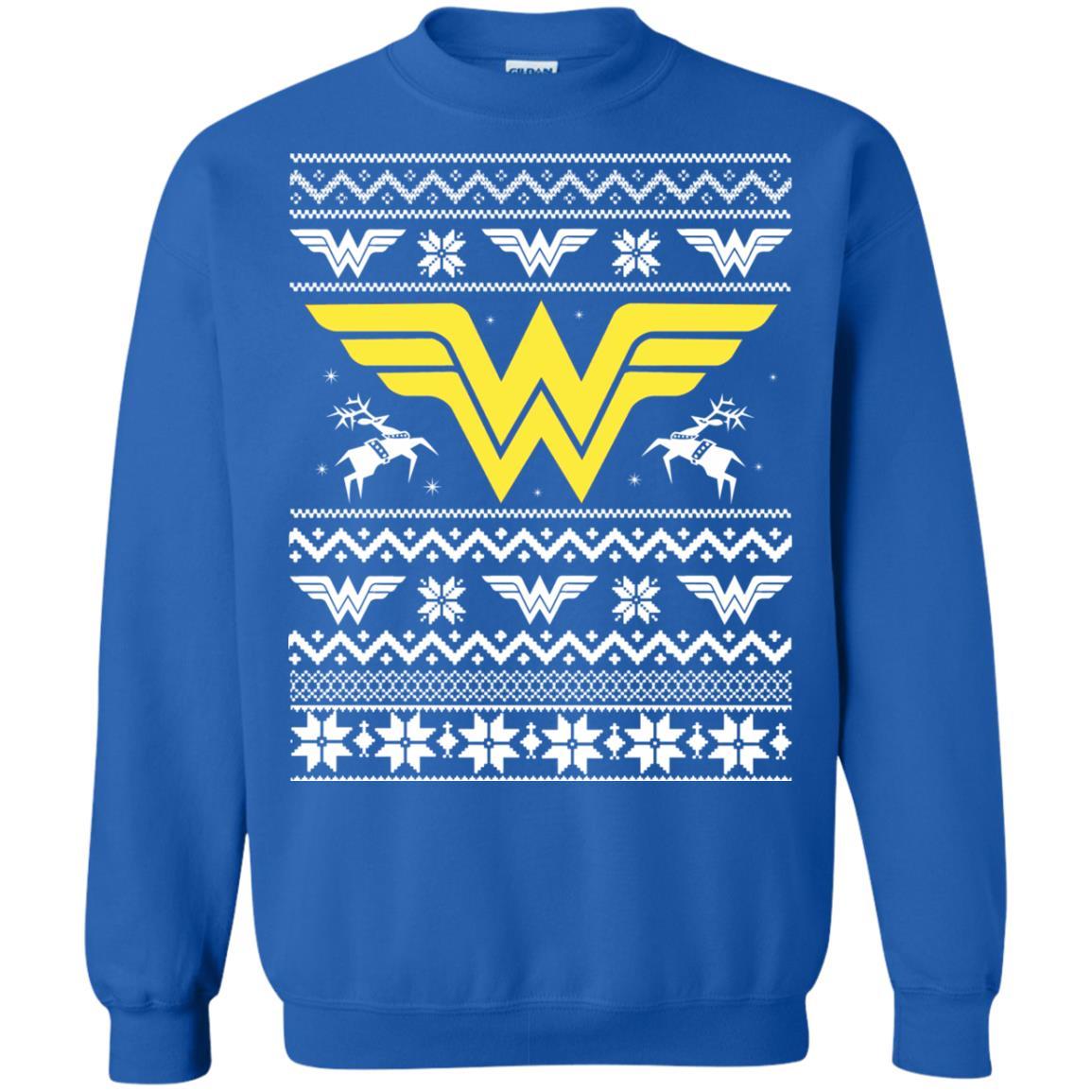 image 1974 - Wonder Woman Christmas Ugly Sweater, Hoodie