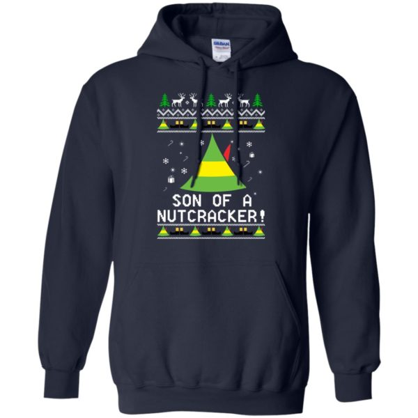 image 1980 600x600 - Son of a Nutcracker Elf Christmas Sweatshirt, Ugly Sweater