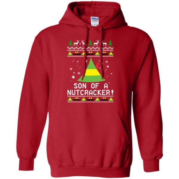 image 1981 600x600 - Son of a Nutcracker Elf Christmas Sweatshirt, Ugly Sweater