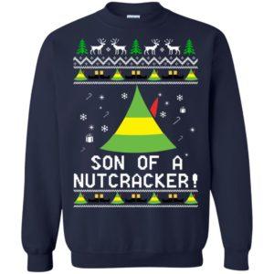 image 1983 300x300 - Son of a Nutcracker Elf Christmas Sweatshirt, Ugly Sweater