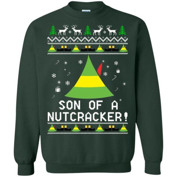 image 1985 600x600 - Son of a Nutcracker Elf Christmas Sweatshirt, Ugly Sweater