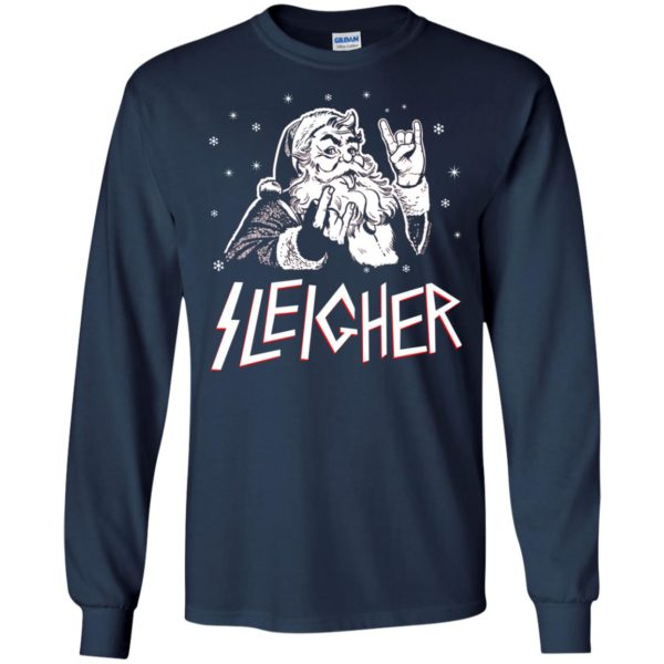 image 1989 600x600 - Santa Sleigher Christmas Sweater, Funny Christmas Shirt