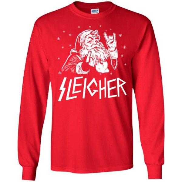 image 1990 600x600 - Santa Sleigher Christmas Sweater, Funny Christmas Shirt