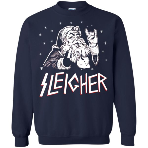 image 1995 600x600 - Santa Sleigher Christmas Sweater, Funny Christmas Shirt