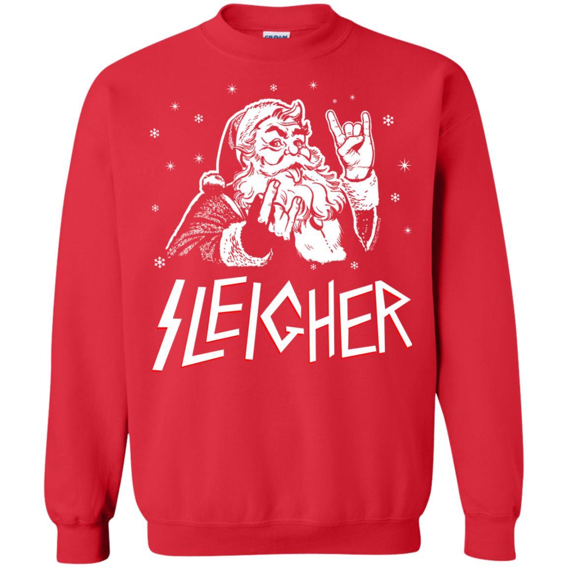 Funny Christmas Sweater.Santa Sleigher Christmas Sweater Funny Christmas Shirt