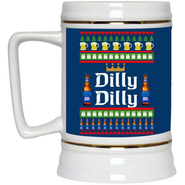 image 21 600x600 - Dilly Dilly Christmas Mug, Beer Stain