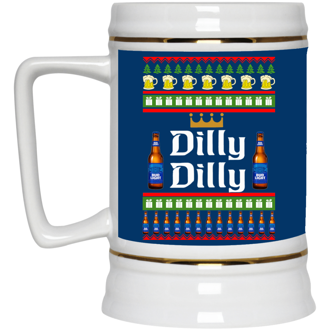 image 21 - Dilly Dilly Christmas Mug, Beer Stain
