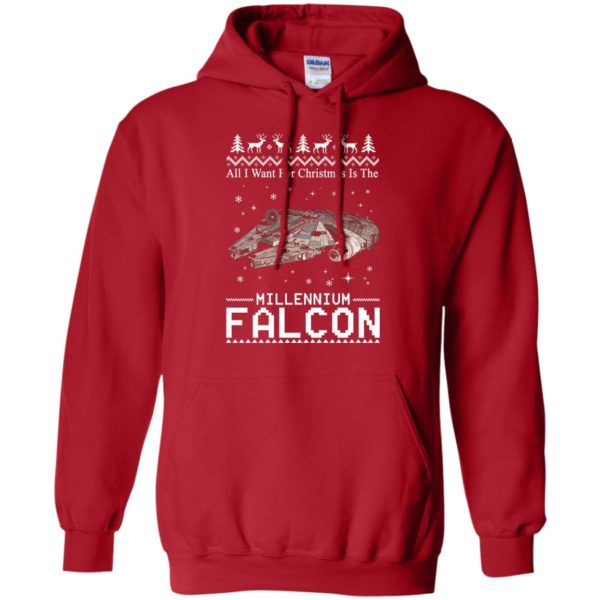 image 2137 600x600 - All I Want For Christmas is The Millennium Falcon Sweater, Ugly Sweatshirt