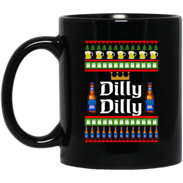 image 22 600x600 - Dilly Dilly Christmas Mug, Beer Stain