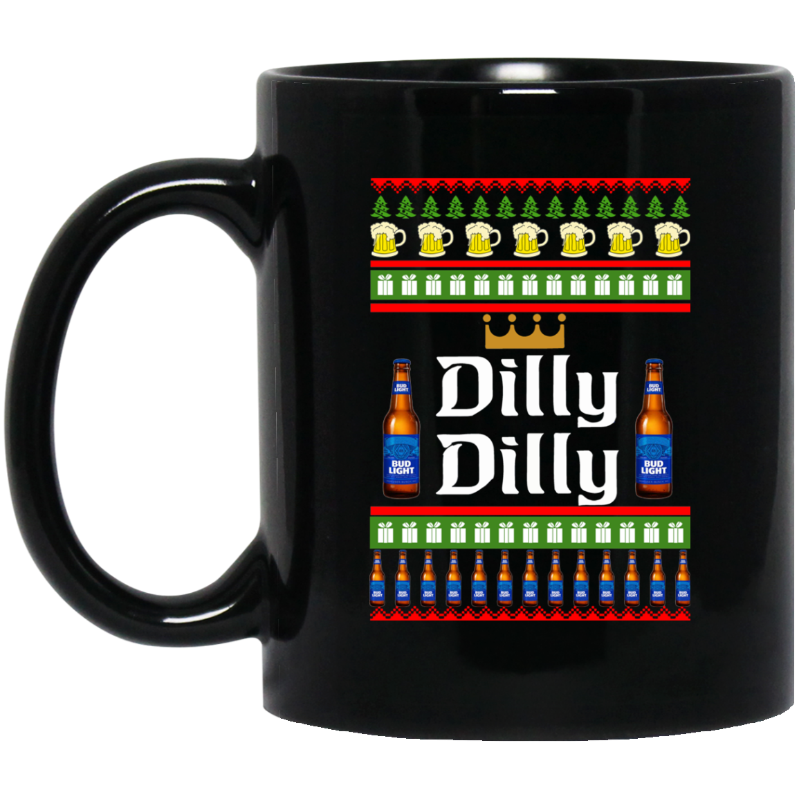 image 22 - Dilly Dilly Christmas Mug, Beer Stain