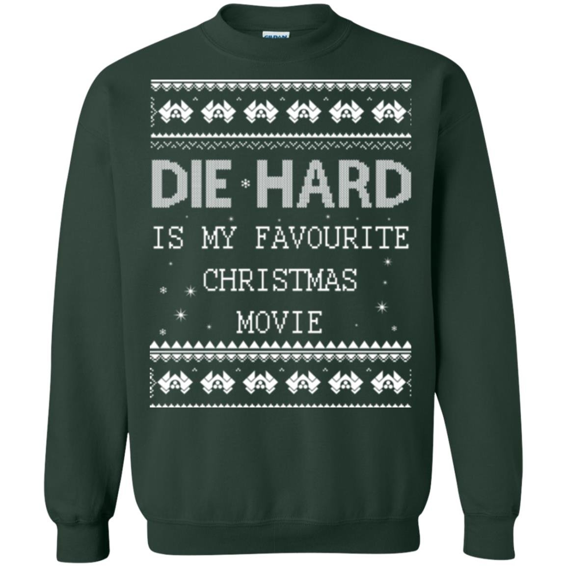 die hard is my favourite christmas movie ugly sweater shirt
