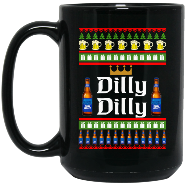 image 23 600x600 - Dilly Dilly Christmas Mug, Beer Stain