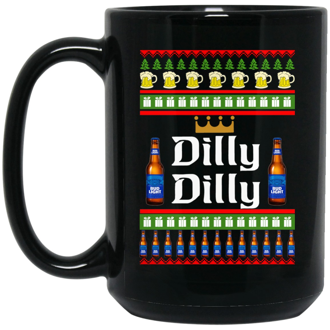 image 23 - Dilly Dilly Christmas Mug, Beer Stain