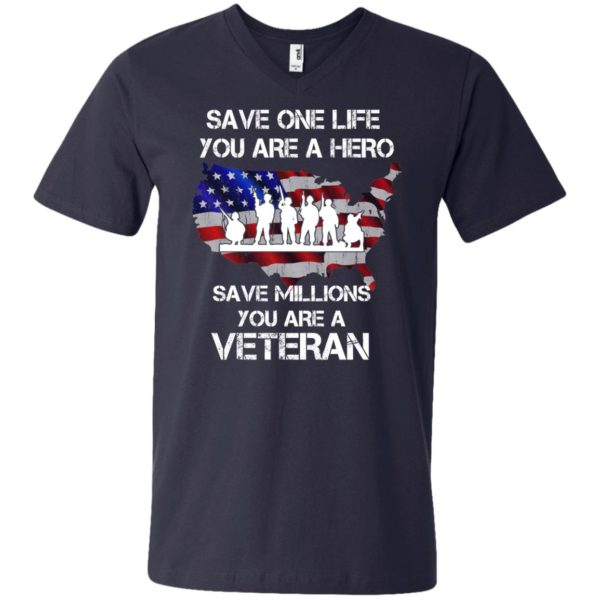 image 2321 600x600 - Save one life you are a hero save million you are a Veteran Shirt, Hoodie