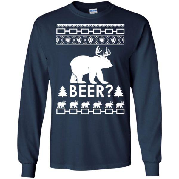 image 2360 600x600 - Christmas Beer Bear-Reindeer Ugly Sweater, Shirt
