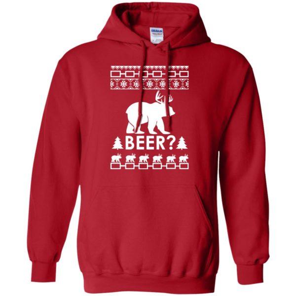 image 2364 600x600 - Christmas Beer Bear-Reindeer Ugly Sweater, Shirt